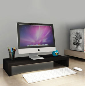 Good Quality 1 single Level Wooden LCD/LED monitor Ergonomic Stand