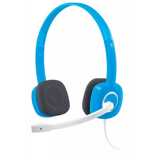 Logitech H150 Stereo headset with mic ( Blue)
