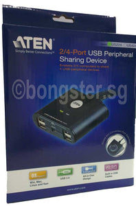 Aten US224 USB Peripheral Sharing up to 4 USB Devices