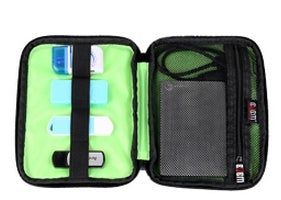 BUBM Cable Organizer Zipper Bag Mini