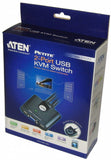 Aten 2 Port USB KVM Switch CS22U
