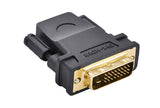 Ugreen 20124 DVI(24+1) Male to HDMI Female Adapter