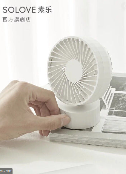 Solove Mini Desktop USB Fan F2 with speed control