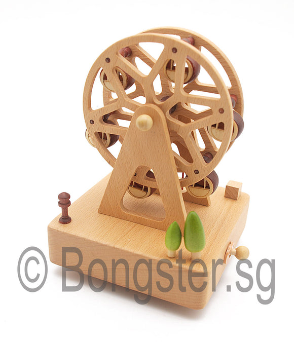 Wooden Music Box Ferris Wheel YP1501A