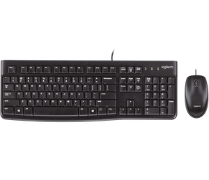 Logitech Wired Keyboard and Mouse MK120