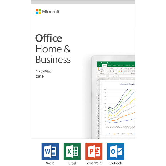 Microsoft Office Home & Business 2019 Retail Pack