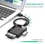 Ugreen 30229 USB3.0 All in one Card reader reads CF SD microsd MMC MS cards