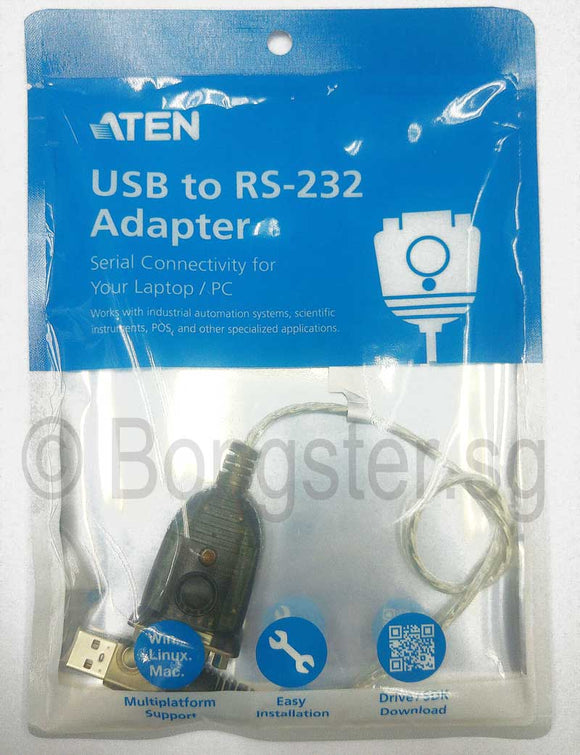 Aten USB to Serial Converter UC-232A