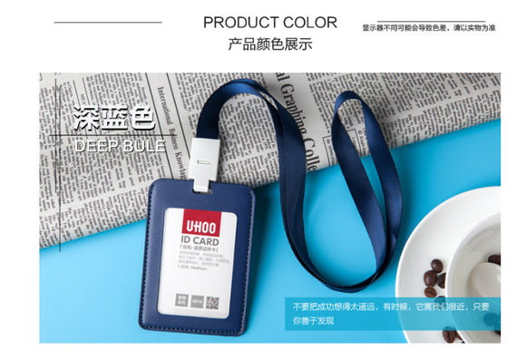 UHOO 6809 /6810 PU Leather ID card Namecard card holder