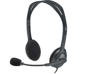 Logitech H111 Stereo Headset with Single 3.5 mm Jack