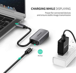 Ugreen 50315 USB type -C to Vga Adapter with power delivery