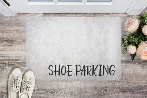 """Shoe Parking"" Doormat - The Home Retreat Store"