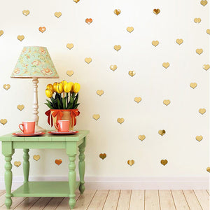 Polka Dot and Heart Wall Decal - The Home Retreat Store