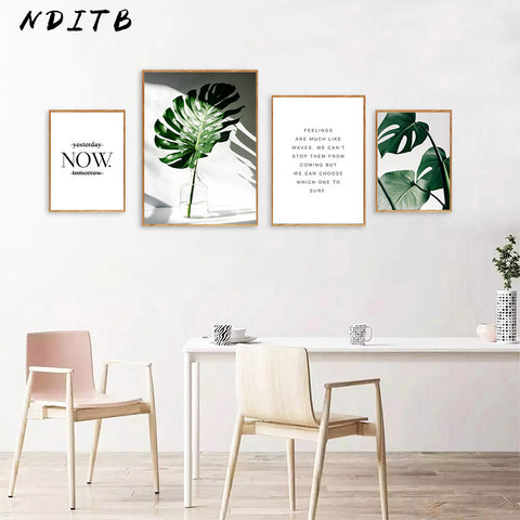Motivational Plant Art - Frame not included - The Home Retreat Store