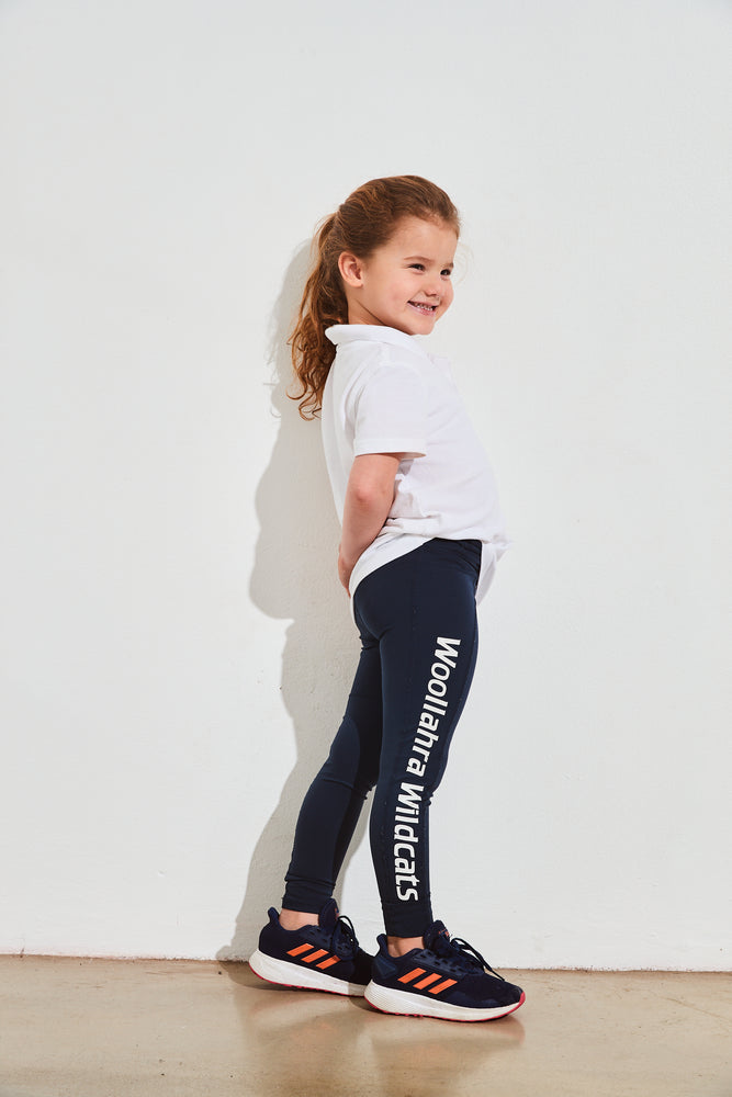 school leggings team leggings netball leggings customised logo printed