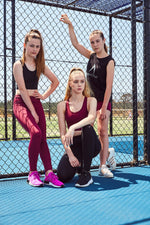 maroon school sport uniforms girls leggings boys tights compression tennis monkey bar shorts cheer shorts 3/4 length Teamwear customised ladies leggings