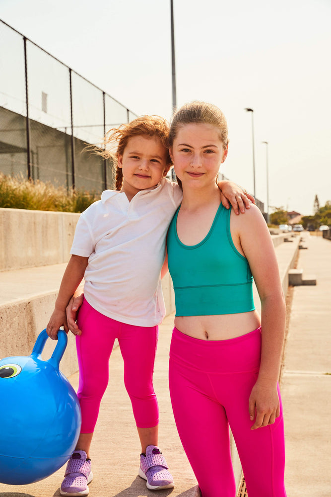 neon+pink+leggings+legging+long+school+sport+uniforms+girls+leggings+boys+tights+compression+tennis+monkey+bar+shorts+cheer+shorts+3/4+lengh+Teamwear+customised+personalised+netball+kids+cropped+neon+pink