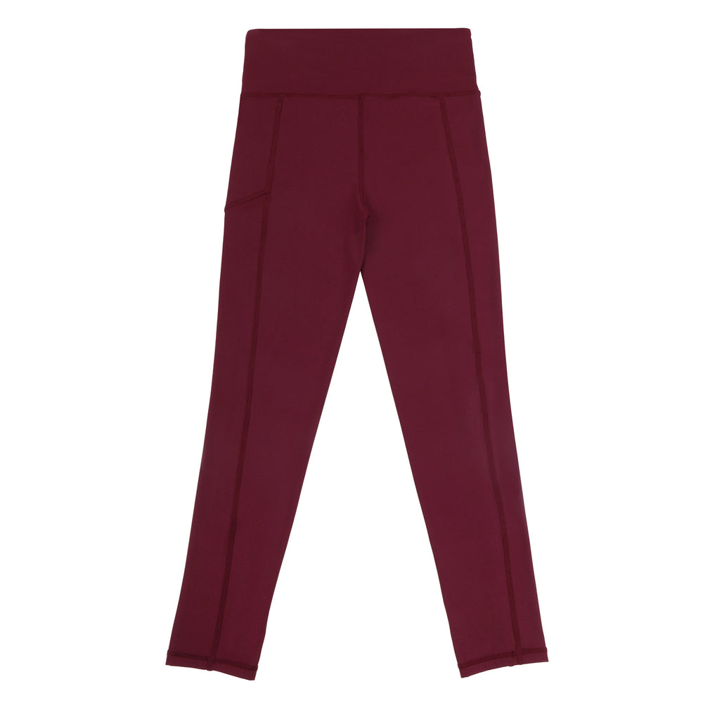 maroon long school sport uniforms girls leggings boys tights compression tennis monkey bar shorts cheer shorts 3/4 length Teamwear customised
