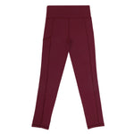 school uniform activewear leggings maroon sport leggings