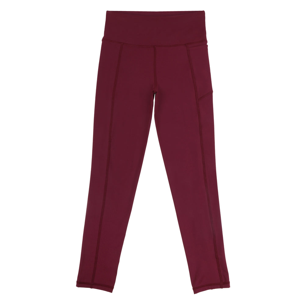 Fearless-Flex Long Leggings - MAROON