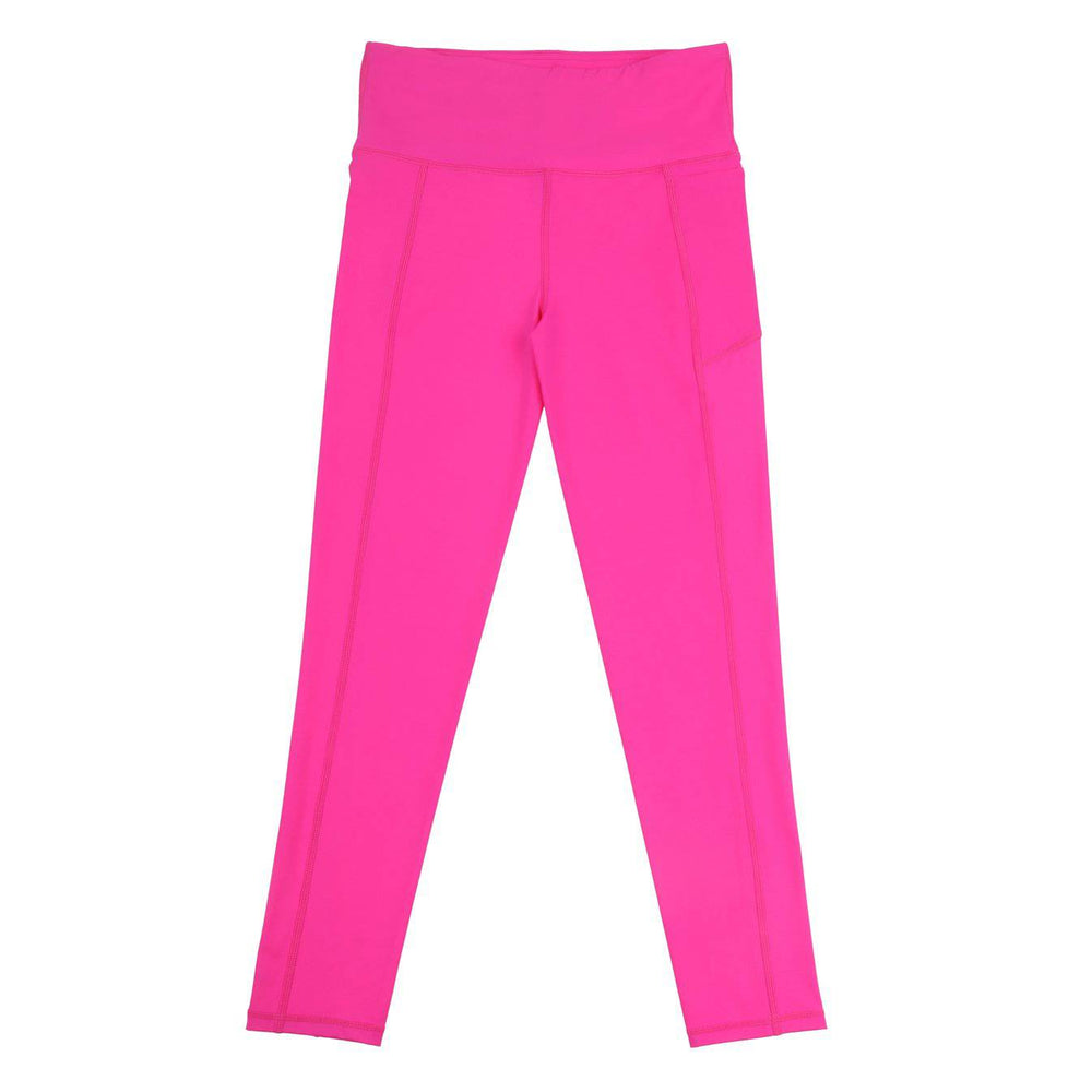 SASACTIVE Fearless-Flex Long Legging - NEON PINK
