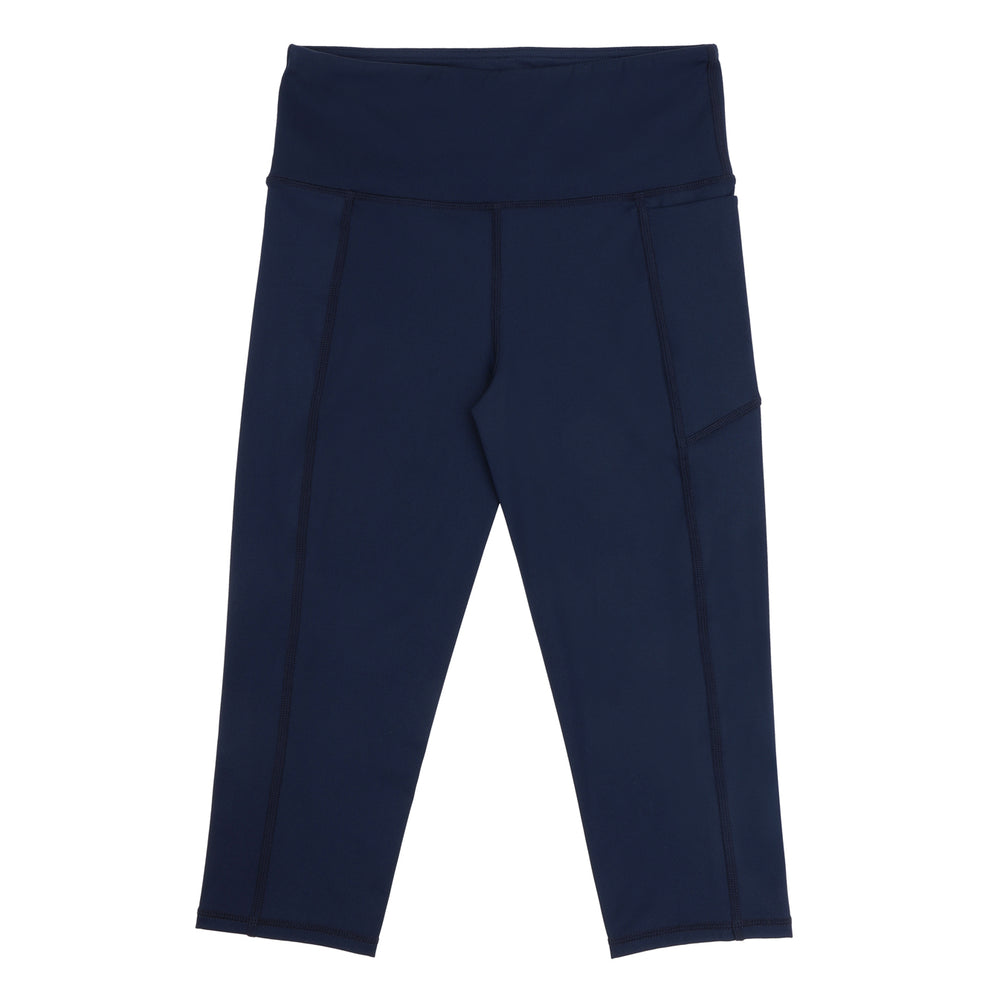 Velocity-Flex 3/4 Leggings - NAVY