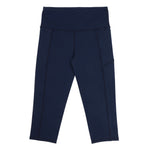 Velocity-Flex 3/4 Legging - NAVY