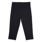 school uniform activewear 3/4 leggings black sport leggings