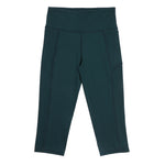 Velocity-Flex 3/4 Legging - FOREST GREEN