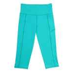 SASACTIVE Velocity-Flex 3/4 Leggings - TEAL