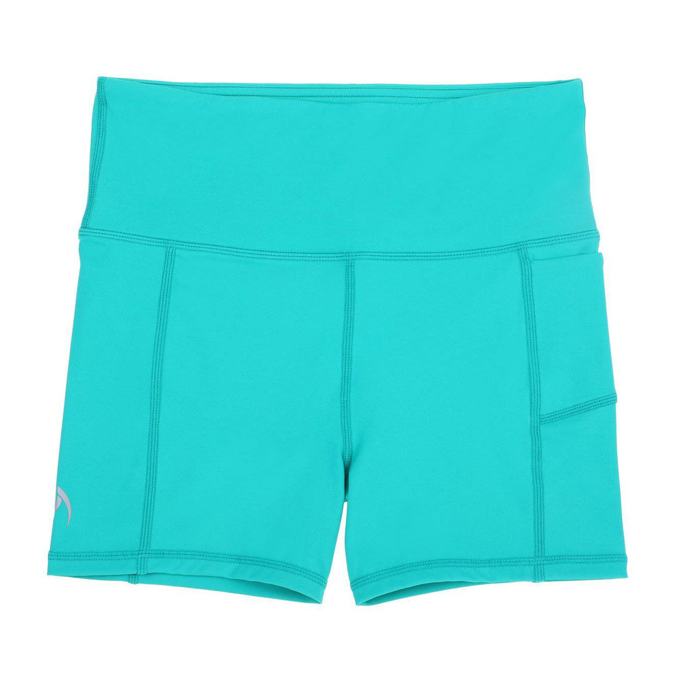 teal school sport uniforms girls leggings boys tights compression tennis monkey bar shorts cheer shorts 3/4 length Teamwear customised