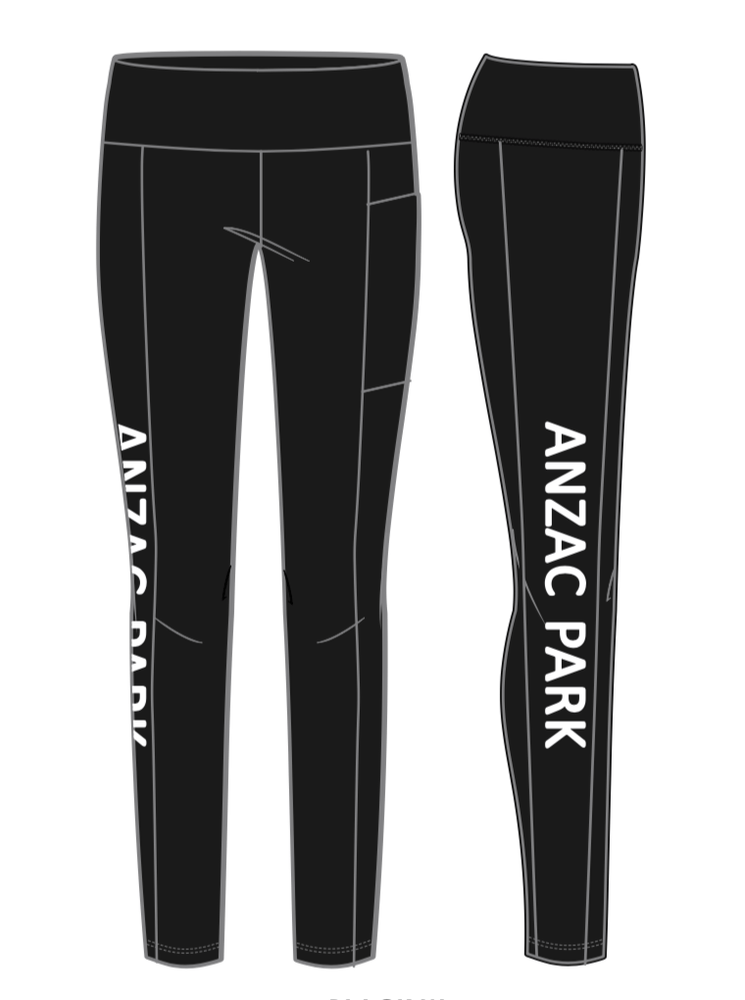 ANZAC PARK PUBLIC SCHOOL PRINTED ACTIVEWEAR PANTS - ADULTS  - PRE-SALE
