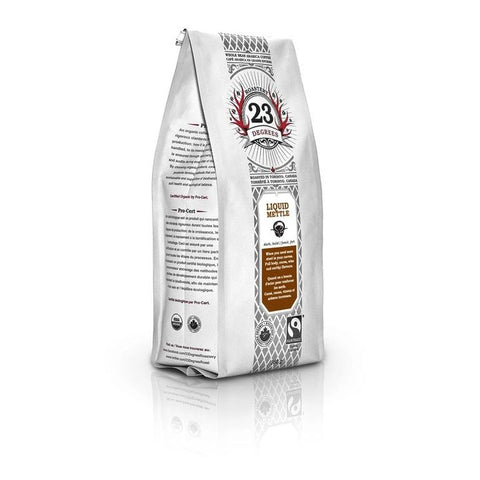 23 Degrees Roastery, Liquid Mettle Coffee Beans (350g)