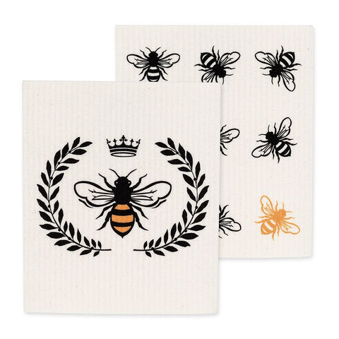 Abbott, The Amazing Swedish Dishcloth | Bee (Set of 2)