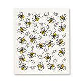 Abbott, The Amazing Swedish Dishcloth | Bees All Over (Set of 2)