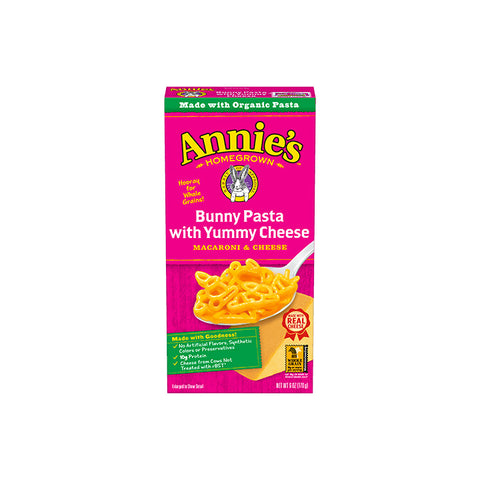 Annie's, Bunny Pasta and Cheddar - Macaroni & Cheese (170g)