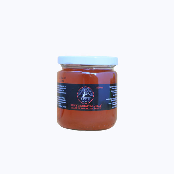 Appleflats, Spicy Crabapple Jelly (250mL)