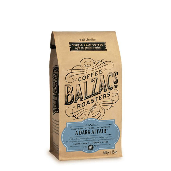 Balzac's Coffee Roasters, A Dark Affair Coffee Beans (340g)