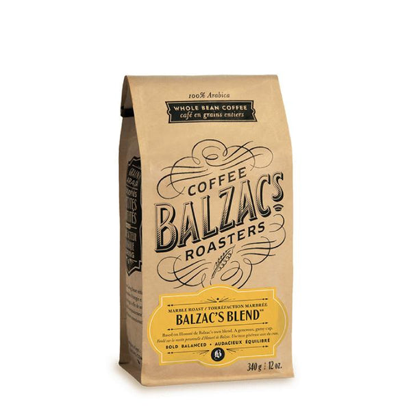 Balzac's Coffee Roasters, Balzac's Blend Coffee Beans (340g)