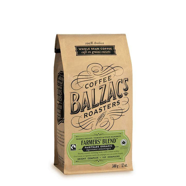 Balzac's Coffee Roasters, Farmer's Blend Coffee Beans (340g)