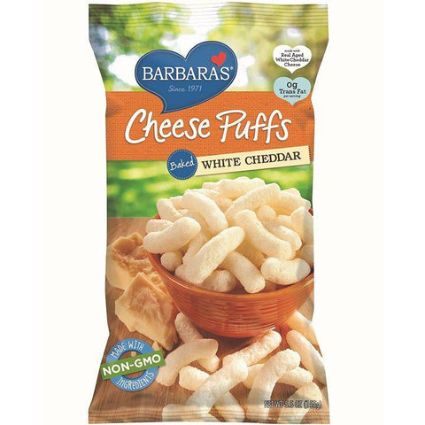 Barbara's, Baked White Cheddar Cheese Puffs (155g)