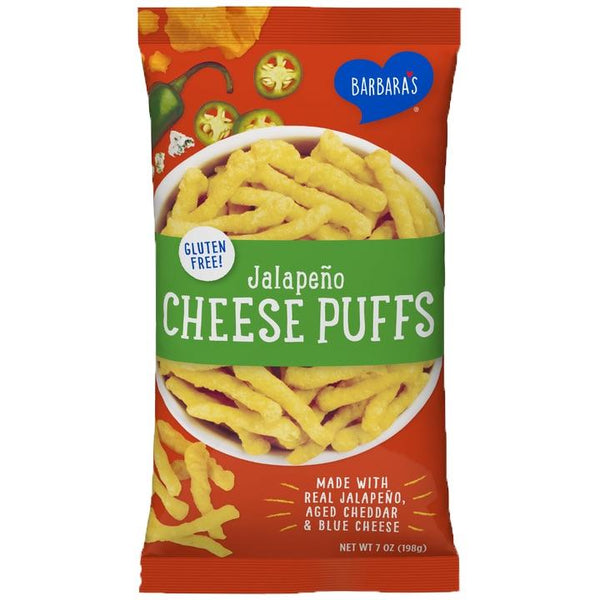 Barbara's, Jalapeño Cheese Puffs (198g)