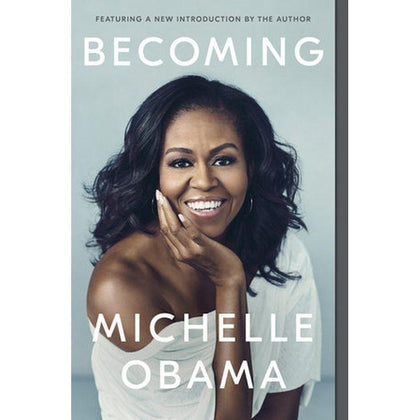 Becoming by M. Obama (HC, pp. 464)