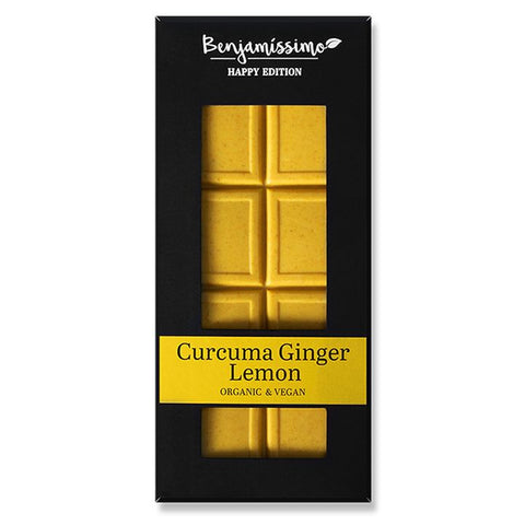 Benjamissimo, Curcuma Lemon Ginger Chocolate | 35% Cacao (70g)