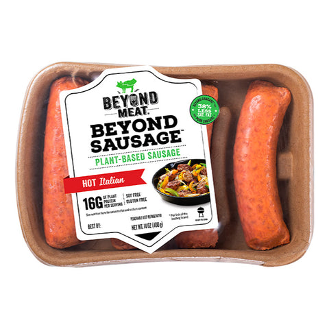 Beyond Meat, Hot Italian Sausage (400g)