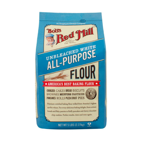 Bob's Red Mill, Unbleached White All Purpose Flour (2.27kg)
