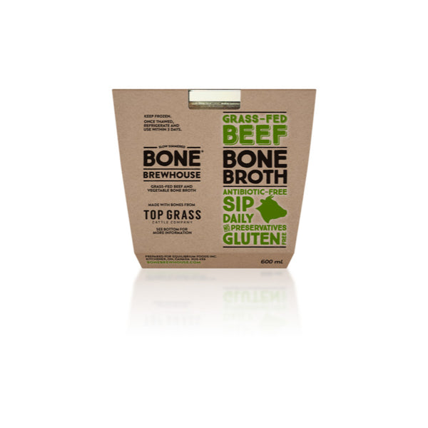 Bone Brewhouse, Grass Fed Beef Bone Broth (600mL)