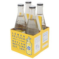 Boylan Bottling Co., Lemon Seltzer (355mL x 4)