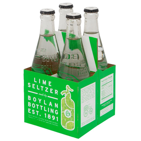 Boylan Bottling Co., Lime Seltzer (355mL x 4)