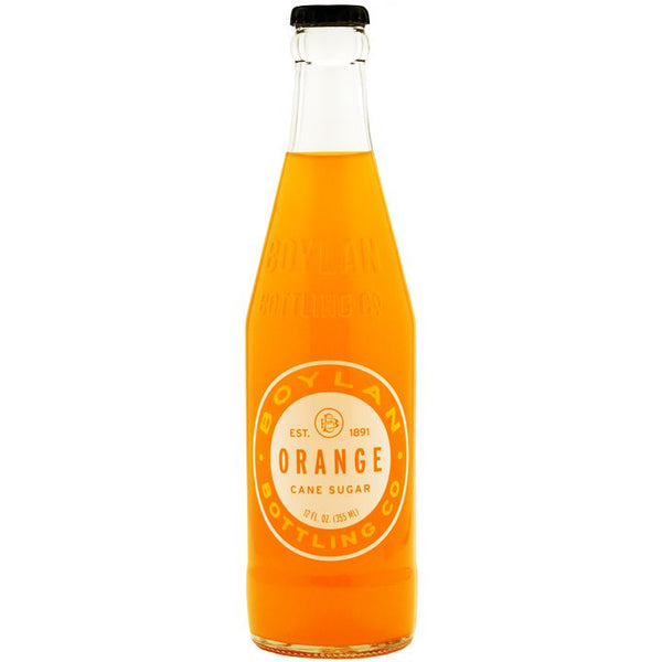 Boylan Bottling Co., Orange Artisanal Soda (355mL)
